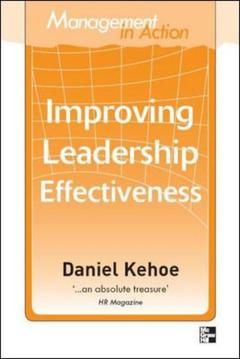 Cover of the book Management in action: improving leadership effectiveness