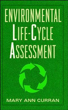 Couverture de l'ouvrage Environmental life cycle assessment