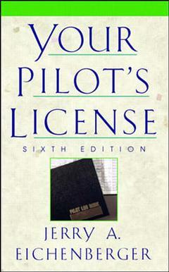 Cover of the book Your pilote license (6th edition) paper