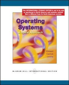 Cover of the book Operating systems: a spiral approach