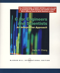Cover of the book C for engineers and scientists. An interpretive approach (with CD-ROM)
