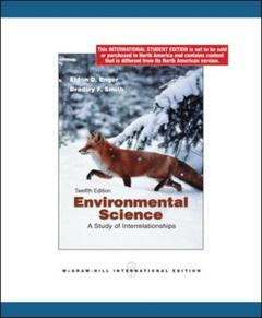 Couverture de l'ouvrage Environmental science (12th ed )