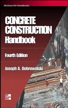 Cover of the book Concrete construction handbook, 4th ed 1998