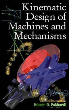 Cover of the book Kinematic design of machines and mechanisms