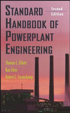 Couverture de l'ouvrage Standard handbook of powerplant engineering, 2nd ed.