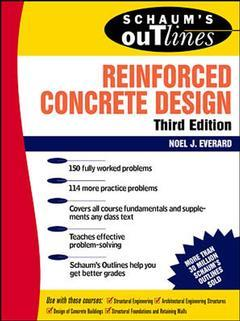 Cover of the book Reinforced concrete design (3rd edition/ Schaum's outline series)