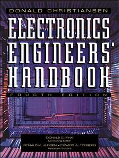 Couverture de l'ouvrage Electronic engineer's handbook (4th ed' 96)