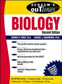 Cover of the book Biology, including hundreds of solved problems (Schaum's outline series)
