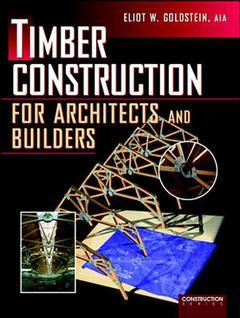 Cover of the book Timber construction for architects and builders
