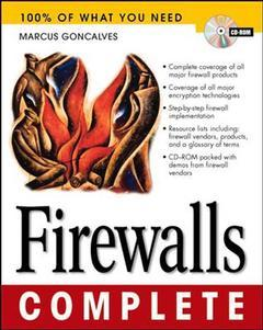 Cover of the book Firewalls complete (CD ROM included / Paper)
