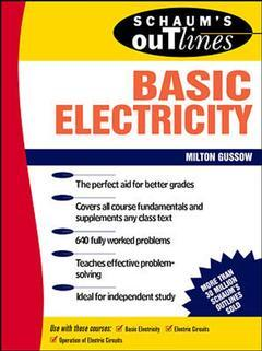 Cover of the book Basic electricity (including 640 solved problems) Schaum