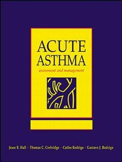 Couverture de l'ouvrage Acute severe asthma