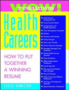Cover of the book Wow! resumes for health careers (paper)