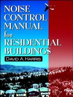 Couverture de l'ouvrage Noise control manual for residential buildings