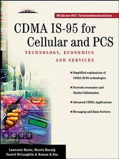 Cover of the book CDMA IS/95 for cellular & PCS : technology, applications & ressource guide