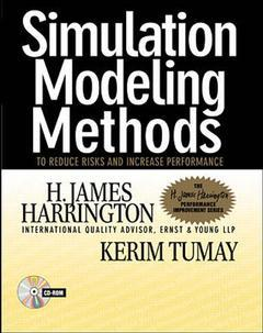 Cover of the book Simulation modeling methods: an interactive guide to results based decision making