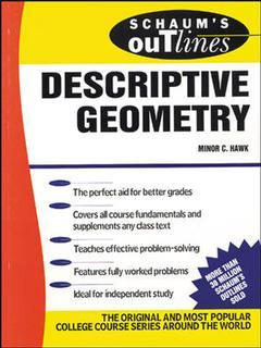 Cover of the book Descriptive geometry