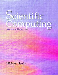 Couverture de l'ouvrage Scientific computing