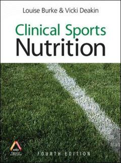 Cover of the book Clinical sports nutrition