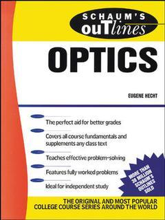 Cover of the book Schaum's Outline of optics