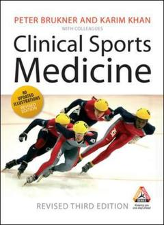 Couverture de l'ouvrage Clinical sports medicine (revised)