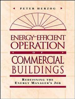 Couverture de l'ouvrage Energy efficient management for commercial buildings