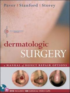 Couverture de l'ouvrage Dermatologic surgery
