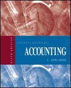 Cover of the book Modern advanced accounting, 8th ed 1999