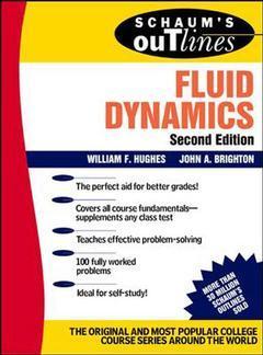 Couverture de l'ouvrage Fluids dynamics (Schaum), 2nd ed