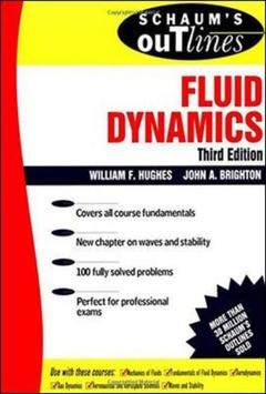 Cover of the book Schaum's outline of fluid dynamics