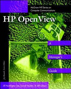 Cover of the book HP's openView