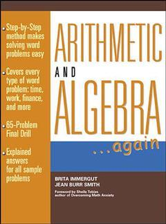 Cover of the book Arithmetic & algebra ...again