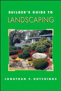 Cover of the book Builder's guide to landscaping (paper)