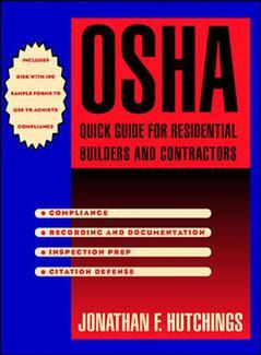 Couverture de l'ouvrage OSHA quick guide for residential builders and contractors