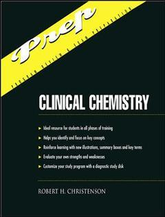 Cover of the book Appleton & lange's outline review: clinical chemistry