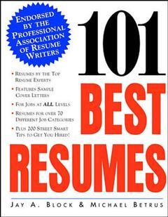 Cover of the book 101 best resumes