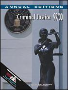 Cover of the book Annual editions : criminal justice 99/00 (23rd edition) paper