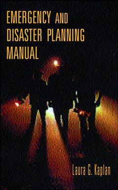 Couverture de l'ouvrage Emergency & disaster planning manual