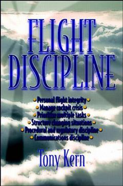 Couverture de l'ouvrage Flight discipline