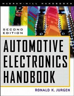 Couverture de l'ouvrage Automotive electronics handbook, 2nd ed 1999