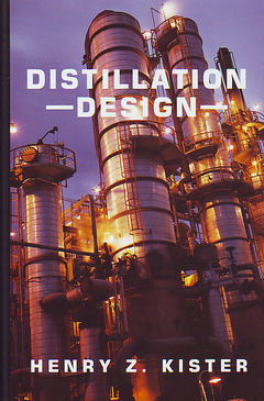 Cover of the book Distillation design