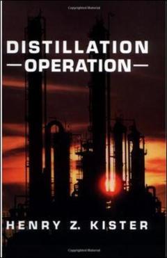 Couverture de l'ouvrage Distillation operation
