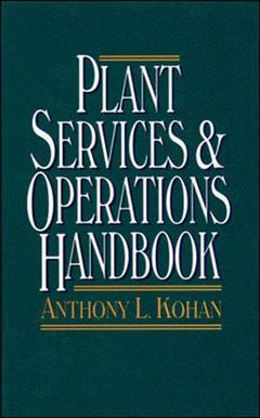 Couverture de l'ouvrage Plant operations and services handbook