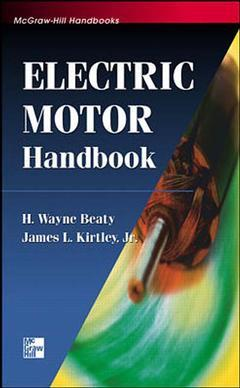 Cover of the book Electric motor handbook
