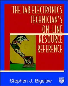Couverture de l'ouvrage The TAB electronics technician's online resource reference (paper)