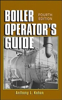 Cover of the book Boiler operator's guide, 4° ed. 1997