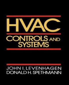 Cover of the book HVAC : controls and systems
