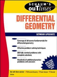 Couverture de l'ouvrage Differential geometry (Schaum's outlines)