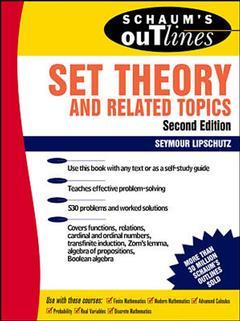 Cover of the book Schaum's outline of set theory and related topics, 2nd ed 1998 (paper)