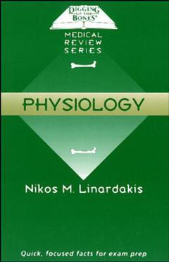 Cover of the book Digging up the bones medical reviews series: physiology